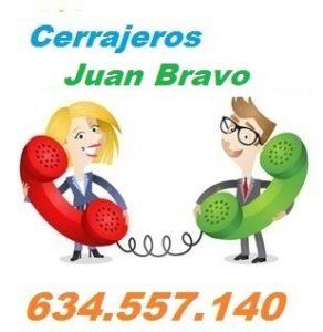 Telefono de la empresa cerrajeros Juan Bravo